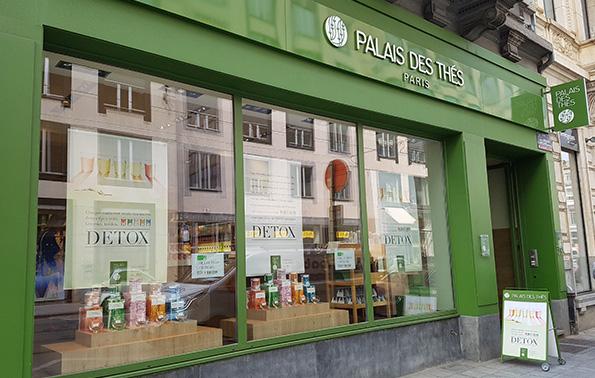 Palais Des Thés Store Brussels 1060