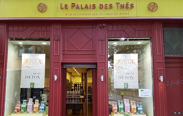 Palais des Thés-Boutiquen Namur 5000