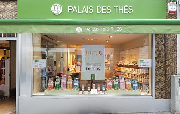 Palais des Thés-Boutiquen Luxemburg L-1333