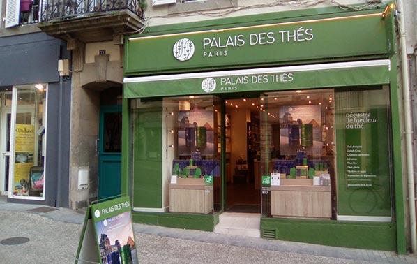 Palais des Thés-Boutiquen Brest 29200