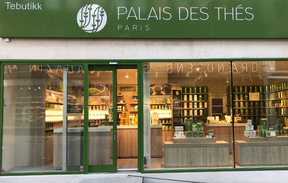 Palais des Thés-Boutiquen Grensen 10 0159