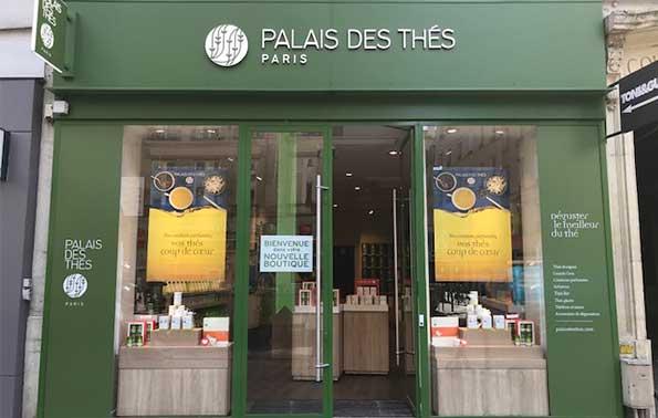 Palais des Thés-Boutiquen Paris 75011