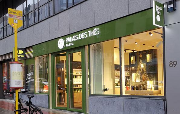 Palais Des Thés Store Brussels 1040