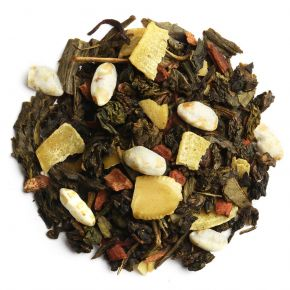 Vive les fêtes - Blend of Oolong and green teas