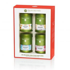Most famous flavoured teas 4 miniatures Box Set - Palais des Thés