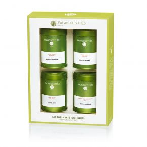 Iconic green teas 4 miniatures Box Set - Palais des Thés
