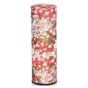 Washi Canister Golden Cherry Tree