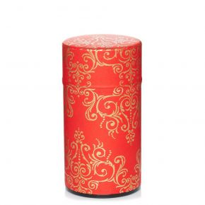 Washi Canister Gold arabesques