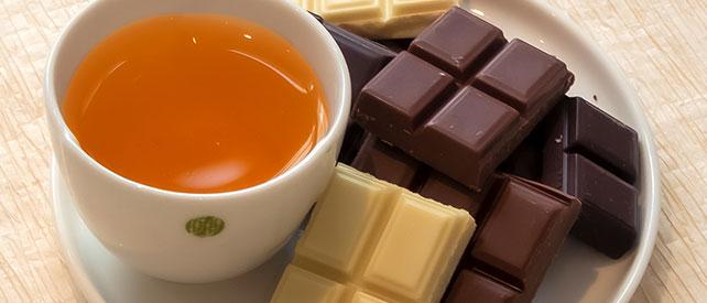 Geschmackskombinationen Tees & Schokolade