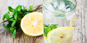 Lemonade with English Garden