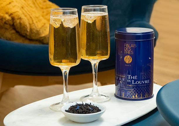 Cocktail Thé du Louvre - Côté Cour