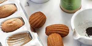 Madeleines with Grand Yunnan Imperial