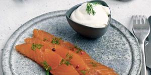 Saumon gravlax - Goût russe 7 agrumes