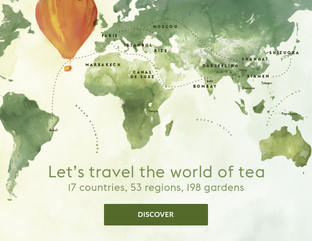 Tour du monde des Thés