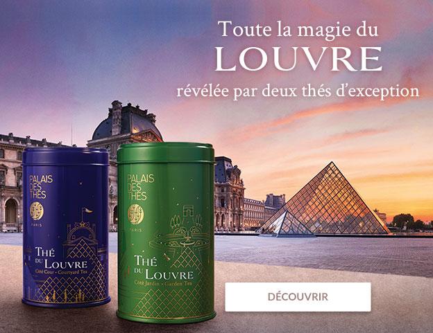 Campagne Thés du Louvre desktop