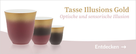 Tasse Illusions - Gold 25 cl