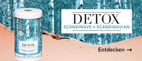 Bio-Detox-tee auf Skandinavische Art