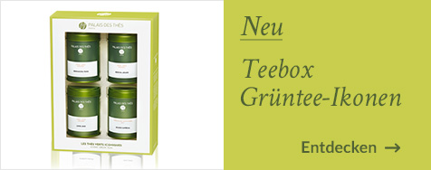 Teebox mit 4 Miniaturdosen Die Güntee-Klassiker