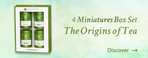 Miniature box set the Origins of tea