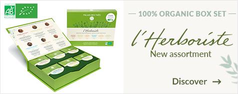 Gift set of 36 L'Herboriste Organic muslin bags