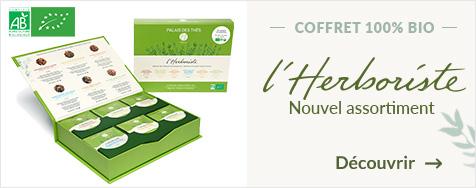COFFRET 36 MOUSSELINES L'HERBORISTE BIO