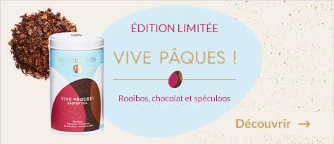 Vive Pâques ! Rooibos chocolat et spéculoos