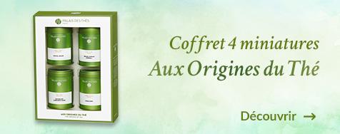 Coffret Miniatures aux origines du thé