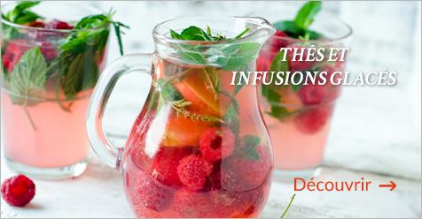 Thés et infusions glacés