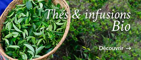Thés et infusions Bio