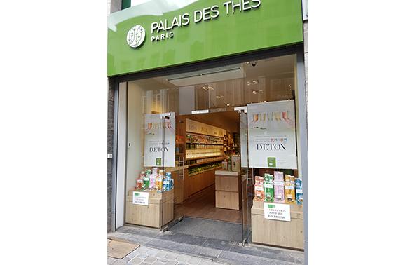 Palais des Thés-Boutiquen Brüssel 1000