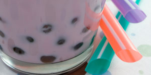 Bubble tea au Jardin suspendu