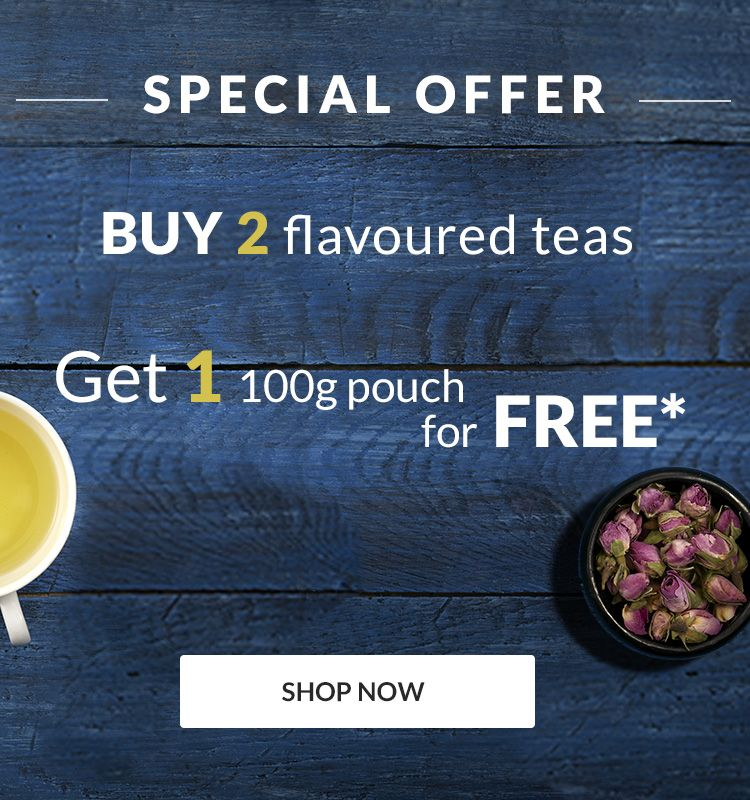 Flavoured teas offer