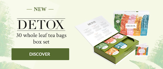 DETOX 30 whole leaf tea bags box set
