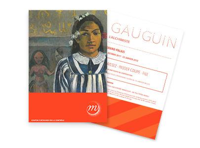 Billets Gauguin, l'alchimiste